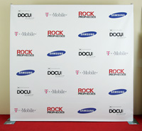 8x8 step and repeat banner