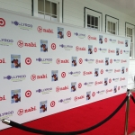16 foot step and repeat banner
