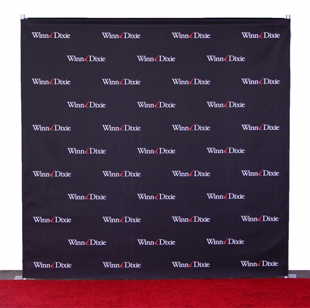 8x8 Aluminum Step And Repeat Stand 8x8 Heavy Duty Stand