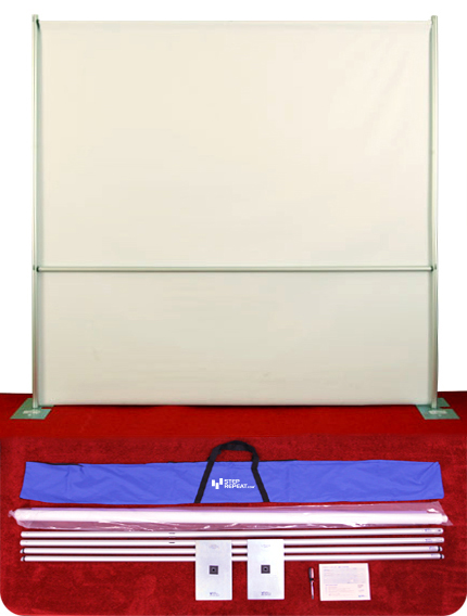 pipe and base banner stand