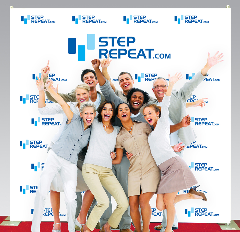 Seamless Step and Repeat Banners