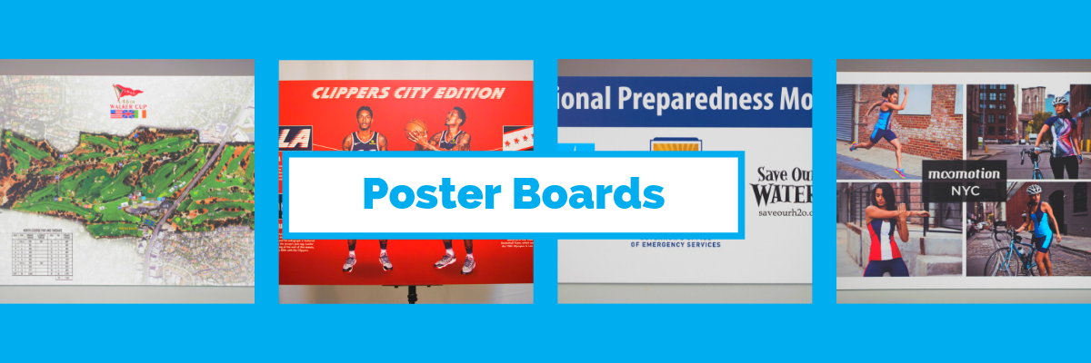 Custom Poster Board Printing: Make Your Event Stand Out