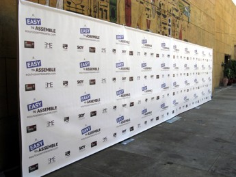20x8 step and repeat banner