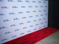 custom printed red carpet