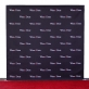 8x8 Step and Repeat Banner Fabric